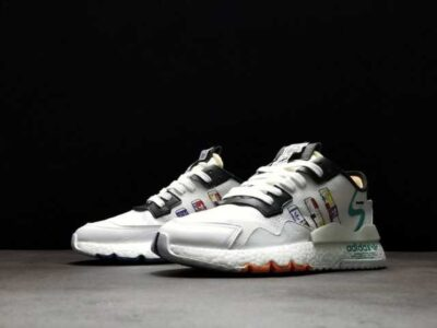 Nike Nite Jogger White Multi-color FW3811 Running Shoe