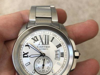 Cartier de calibre luxury watch