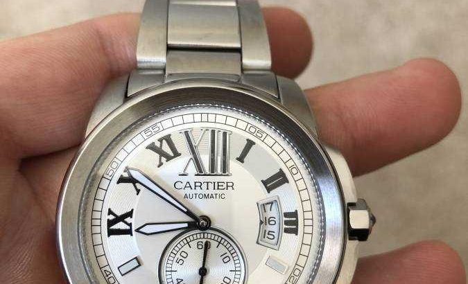 Cartier de calibre luxury watch