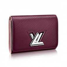 Louis Vuitton Twist Compact Wallet Epi Leather