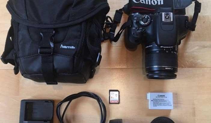 Canon EOS single lens reflex camera