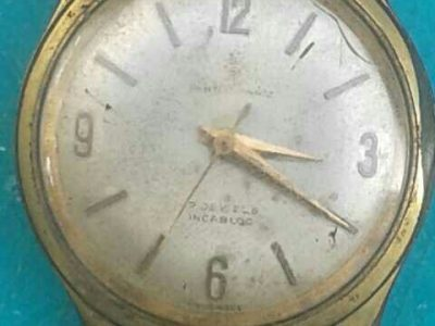 100years old wristwatch
