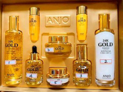 Anjo 24k Gold Skincare Set
