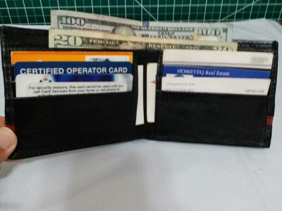 Full Grain Cowhide Men Leather Wallet