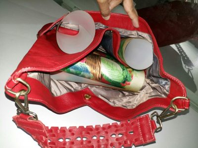 Full Grain Cowhide Single Shoulder Crossbody Bag