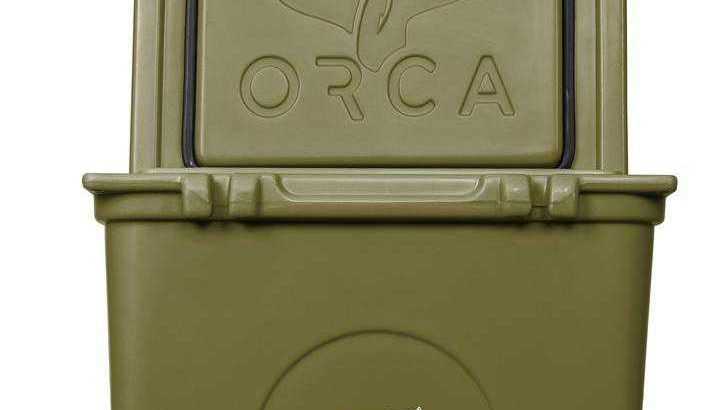 Orca Green 58 Quart Cooler