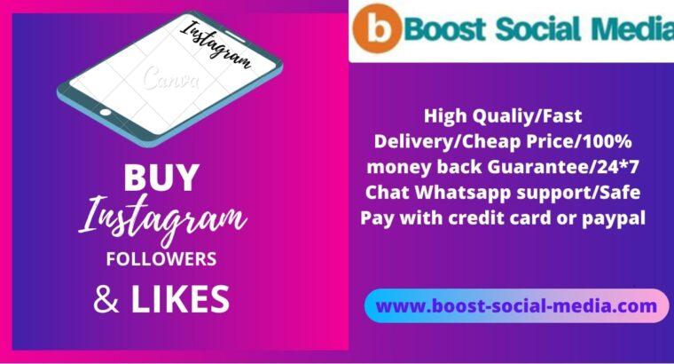 Buy Instagram Followers & Likes