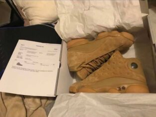 Air Jordan Retro Wheat 13s (VNDS)