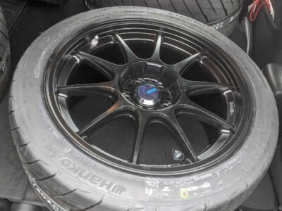 hankook rs4 tyres ×4 with tuning rim