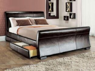 Leesa Storage 4 Drawer Sleigh Bed