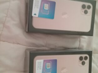2 Brand new iPhone 11 pro max 256gb unlocked