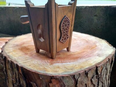 Incense Burner Teak Wood