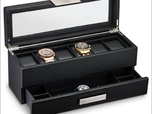 NEX 6 Slot Leather Watch Box