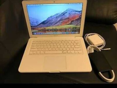 Apple MacBook White 13″ MC516LL/A 250GB HDD Intel 2.40GHz 4GB LATEST MAC OS 2017