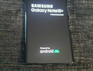 Samsung Galaxy Note10+ SM-N975U – 256GB – Aura Black (Unlocked) (Single SIM)