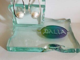 Silverstone Ball Dangle earrings