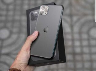 Unlocked Apple iphone 11 pro Midnight Green
