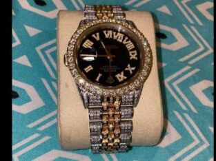 Rolex , diamond ,designer ,wristwatch