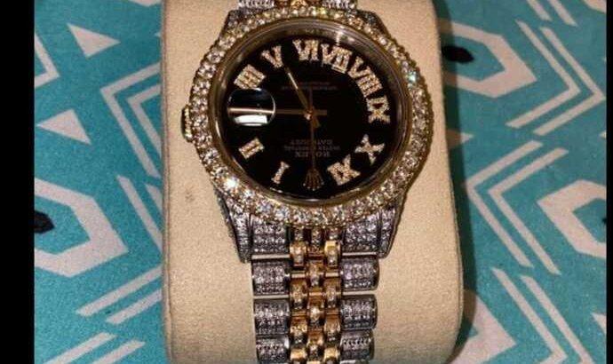 Rolex , diamond ,designer ,wristwatch