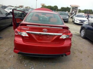 Selling Of Corolla Sport 2013
