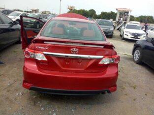 Selling Of Corolla Sport 2013