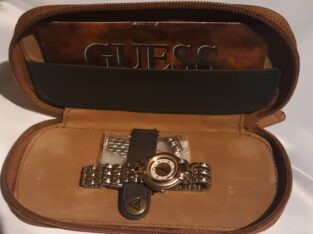 Vintage Guess watch plus case