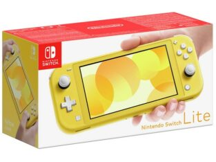 Buy Nintendo Switch Lite Handheld Console – Yellow