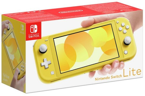Buy Nintendo Switch Lite Handheld Console – Yellow