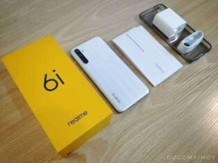 Brand new Realme 6i 64gb original set