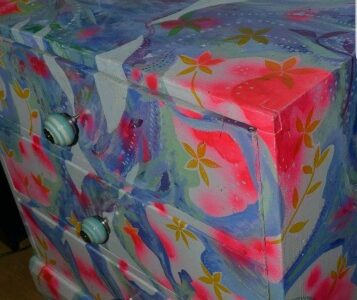 Colourful Hand Painted Chest of Drawers Furniture Bedroom w/ FREE CONSULTATION