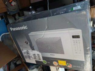 Panasonic 1.3 Cu. Ft. 1100W Genius Sensor Countertop Microwave Oven  in White