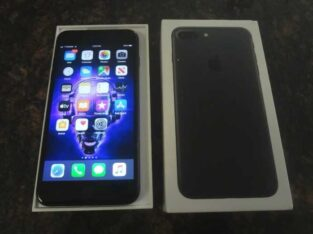 Apple iPhone 7 plus- 128GB- Black (without Simlock) A1778 (GSM) – VGC