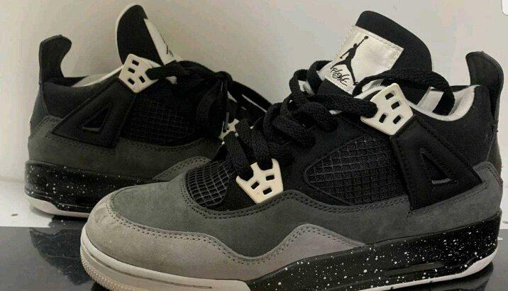 AIR JORDAN 4 RETRO (GS) Fear Pack Nike IV 2013 626970 030 Size 5.5Y CHICAGO TOP3