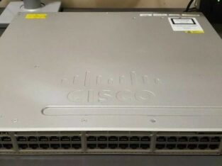 Cisco WS-C3850-48T-S 48 Ports Managed Network Switch w/ rack ears
