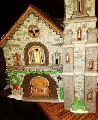 Dickens Village series Whittlebourne lighted church