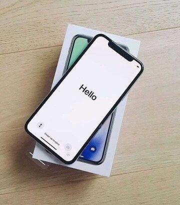 iphone x black brand new