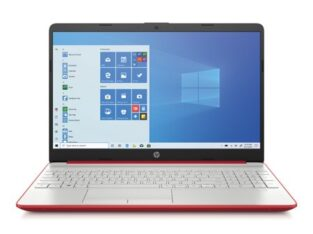 HP 15.6″ Pentium 4GB/500GB Laptop-Scarlet Red
