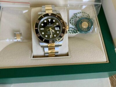 Rolex Submariner Date 18k Gold & Steel – Box/Papers Excellent