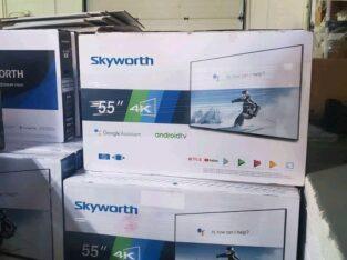 smart TV Skyworth 55 uhd 4K