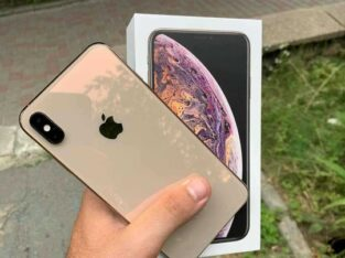 Gold iPhone 11 pro max 512GB