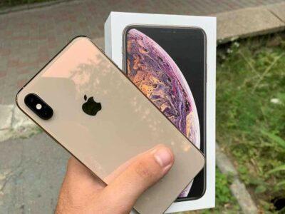 Gold iPhone 11 pro max 512GB