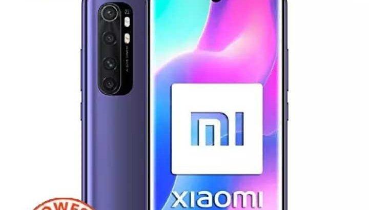 SuperPromoSale}Xiaomi Note10 Lite 8GB RAM/256GB ROM*imprt new set*