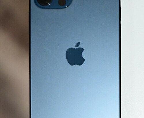 Apple iPhone 12 Pro Max – 128GB – Pacific Blue