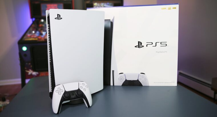 Play station 5 .. Text/Call +1 707 348 2097