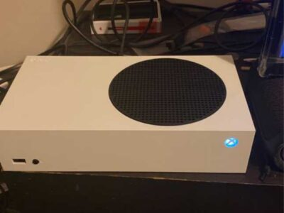 X-box gaming console