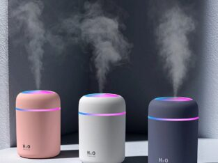 2 in 1 USB Electric Aromatherapy Oil Diffuser Ultrasonic Air Humidifier Mist Maker with Color Lights