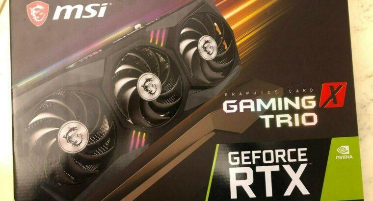 Wholesales New MSI RTX 3080 X TRIO 10GB