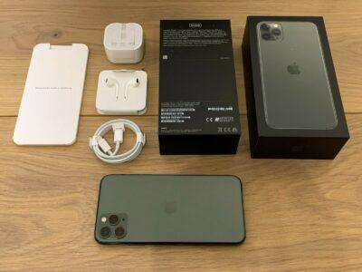 Apple iPhone 11 Pro Max – 64GB 256GB 512GB, All Co