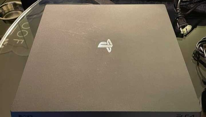 I'm giving out my PS4 Pro at low rate