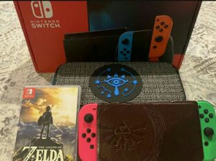 Nintendo Switch V2 Zelda Bundle